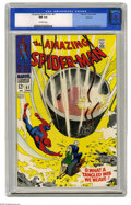 Silver Age (1956-1969):Superhero, The Amazing Spider-Man #61 Oakland pedigree (Marvel, 1968) CGC NM 9.4 Off-white pages. This pedigreed copy is a real keeper ...