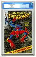Bronze Age (1970-1979):Superhero, The Amazing Spider-Man #100 (Marvel, 1971) CGC NM+ 9.6 White pages. Not a dream! Not a ho..., well, actually this issue do...