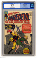 Silver Age (1956-1969):Superhero, Daredevil #4 Western Penn pedigree (Marvel, 1964) CGC NM+ 9.6Off-white pages. To date, CGC hasn't certified a higher grade ...