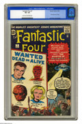 Silver Age (1956-1969):Superhero, Fantastic Four #7 (Marvel, 1962) CGC VF+ 8.5 Light tan to off-white pages. Though the Marvel Age of Comics had already start...