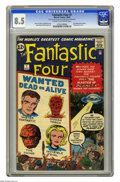 Silver Age (1956-1969):Superhero, Fantastic Four #7 (Marvel, 1962) CGC VF+ 8.5 Cream to off-white pages. This cover has the feel of one of those Atlas monster...