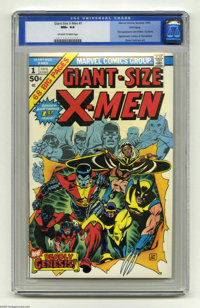 Giant-Size X-Men #1 Winnipeg pedigree (Marvel, 1975) CGC NM+ 9.6 Off-white to white pages. Canada's Wolverine, Germany's...