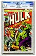 Bronze Age (1970-1979):Superhero, The Incredible Hulk #181 (Marvel, 1974) CGC NM+ 9.6 Off-whitepages. How nice is it to have a 9.6 of this key? Well, as of t...
