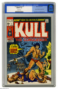 Kull the Conqueror #1 (Marvel, 1971) CGC NM/MT 9.8 Off-white pages. After Conan became a smash success, Marvel gave Robe...