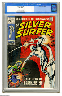 The Silver Surfer #7 (Marvel, 1969) CGC NM+ 9.6 Off-white to white pages. Our run of superb Silver Surfers continues wit...