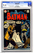 Silver Age (1956-1969):Superhero, Batman #212 (DC, 1969) CGC NM 9.4 Off-white pages. Last 12¢ issue, featuring art by Irv Novick and Joe Giella, and story by ...