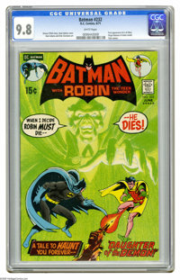 Batman #232 (DC, 1971) CGC NM/MT 9.8 White pages. DC comics in the seventies just did not get any better than the milest...