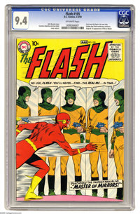 The Flash #105 (DC, 1959) CGC NM 9.4 Off-white pages. This is the sole highest-graded copy of this issue as of this writ...