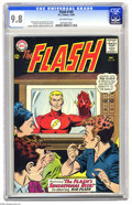 Silver Age (1956-1969):Superhero, The Flash #149 (DC, 1964) CGC NM/MT 9.8 Off-white pages. Rememberthis story? Flash unmasks on TV to jog Kid Flash's memory ...