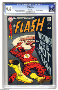 The Flash #191 (DC, 1969) CGC NM+ 9.6 White pages. Green Lantern appearance. Joe Kubert cover. Ross Andru art. Overstree...