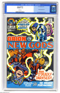 Bronze Age (1970-1979):Superhero, The New Gods #2 (DC, 1971) CGC NM/MT 9.8 White pages. EarlyDarkseid appearance. Jack Kirby cover and art. Overstreet 2005 N...