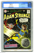 Golden Age (1938-1955):Science Fiction, Showcase #19 Adam Strange - Big Apple pedigree - Double Cover (DC,1959) CGC NM+ 9.6 Cream to off-white pages. This was Adam...