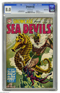 Silver Age (1956-1969):Adventure, Showcase #29 Sea Devils - Mohawk Valley pedigree (DC, 1960) CGC VF 8.0 Off-white pages. Russ Heath executed this striking gr...
