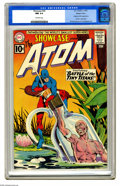Silver Age (1956-1969):Superhero, Showcase #34 The Atom - Western Penn pedigree (DC, 1961) CGC NM 9.4 Off-white pages. This is the origin and first appearance...