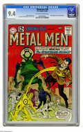 Silver Age (1956-1969):Superhero, Showcase #38 (DC, 1962) CGC NM 9.4 Off-white to white pages. This comic featured the second appearance of the Metal Men, bro...