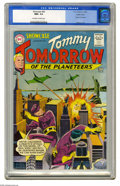 Silver Age (1956-1969):Science Fiction, Showcase #46 Tommy Tomorrow - Pacific Coast pedigree (DC, 1963) CGCNM+ 9.6 Off-white to white pages. We think it's safe to ...
