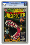 Silver Age (1956-1969):Horror, Tales of the Unexpected #100 Boston pedigree (DC, 1967) CGC NM 9.4Off-white to white pages. Carmine Infantino cover. Bernar...