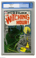 Silver Age (1956-1969):Horror, Witching Hour #1 (DC, 1969) CGC NM 9.4 White pages. DC made surethis series got off to a good start by assigning art duties...