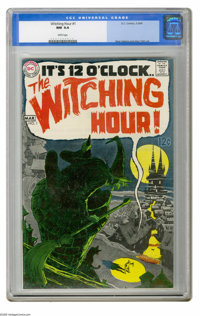 Witching Hour #1 (DC, 1969) CGC NM 9.4 White pages. DC made sure this series got off to a good start by assigning art du...