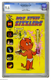Hot Stuff Sizzlers #44 File Copy (Harvey, 1971) CGC NM+ 9.6 Off-white to white pages. Overstreet 2005 NM- 9.2 value = $3...