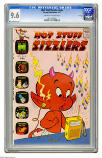 Hot Stuff Sizzlers #46 File Copy (Harvey, 1971) CGC NM+ 9.6 Off-white to white pages. Overstreet 2005 NM- 9.2 value = $2...