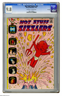 Hot Stuff Sizzlers #51 File Copy (Harvey, 1972) CGC NM/MT 9.8 Off-white to white pages. Overstreet 2005 NM- 9.2 value =...