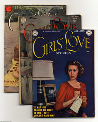 Girls' Love Stories Group (DC, 1949-54) Condition: Average FN-. Included here are #1, 2, 3, 4, 9, 10, 11, 12, 14, 15, an...