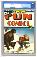 Golden Age (1938-1955):Miscellaneous, More Fun Comics #38 Mile High pedigree (DC, 1938) CGC NM 9.4 Off-white to white pages. This is the only unrestored copy of t...