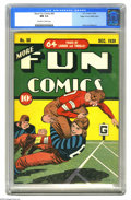 Golden Age (1938-1955):Miscellaneous, More Fun Comics #50 Mile High pedigree (DC, 1939) CGC NM 9.4 Off-white to white pages. The early issues of More Fun ofte...