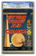 Golden Age (1938-1955):Superhero, New York World's Fair Comics 1939 (DC, 1939) CGC VG+ 4.5 Light tan to off-white pages. This issue is listed at number 36 in ...