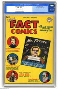 Golden Age (1938-1955):Non-Fiction, Real Fact Comics #3 Mile High pedigree (DC, 1946) CGC NM+ 9.6Off-white to white pages. According to Overstreet, this book h...