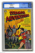 Golden Age (1938-1955):Science Fiction, Strange Adventures #13 White Mountain pedigree (DC, 1951) CGC VF/NM9.0 Off-white to white pages. It's Captain Comet to the ...