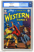 Golden Age (1938-1955):Western, Western Comics #20 Mile High pedigree (DC, 1951) CGC NM+ 9.6Off-white to white pages. The Wyoming Kid, the Nighthawk, Rodeo...