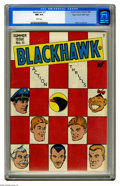 Golden Age (1938-1955):Adventure, Blackhawk #11 Mile High pedigree (Quality, 1946) CGC NM 9.4 White pages. This was only the third issue of the title (which h...