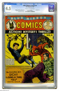 Golden Age (1938-1955):Miscellaneous, Blue Ribbon Comics #6 (MLJ, 1940) CGC VG+ 4.5 Cream to off-white pages. This is the first time we've ever seen this issue he...