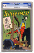 Golden Age (1938-1955):Superhero, Bulletman #4 Crowley Copy pedigree - File Copy (Fawcett, 1942) CGC VF/NM 9.0 Cream to off-white pages. In many an instance, ...