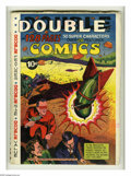 Golden Age (1938-1955):Superhero, Double Comics 1940 Edition (Elliot, 1940) Condition: VG/FN. Every issue of Double Comics was unique, as the contents wer...
