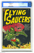 Golden Age (1938-1955):Science Fiction, Flying Saucers #nn River City pedigree (Avon, 1952) CGC NM- 9.2Cream to off-white pages. Gene Fawcette's dynamic depiction ...