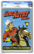 Golden Age (1938-1955):Western, Gene Autry Comics #2 File Copy (Fawcett, 1942) CGC NM 9.4 Off-whitepages. In your quest for file copies, don't overlook tho...