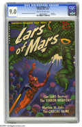 Golden Age (1938-1955):Science Fiction, Lars of Mars #11 (Ziff-Davis, 1951) CGC VF/NM 9.0 Cream to off-white pages. Comics from publisher Ziff-Davis are noted for t...