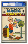 Golden Age (1938-1955):Humor, Magic Comics #1 Mile High pedigree (David McKay Publications, 1939) CGC FN 6.0 Off-white to white pages. Just two unrestored...