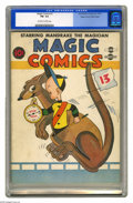 Golden Age (1938-1955):Funny Animal, Magic Comics #3 Mile High pedigree (David McKay Publications, 1939)CGC FN- 5.5 Off-white to white pages. Even at this grade...