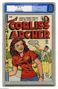 "Golden Age (1938-1955):Humor, Meet Corliss Archer #1 (Fox, 1948) CGC NM 9.4 Off-white to white pages. ""America's Favorite Teen-Age Radio and Screen Star"" ..."