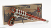 Flash Gordon Radio Repeater Click Pistol with Original Box (Louis Marx, 1935). While it might seem otherwise, the ray gu...