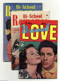 Golden Age (1938-1955):Romance, Miscellaneous Golden Age Romance Group (Various Publishers,1949-56) Condition: Average VG/FN. These love stories are from a...(35 Comic Books)