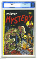 Golden Age (1938-1955):Horror, Mister Mystery #2 Spokane pedigree (Aragon Magazines, Inc., 1951)CGC NM 9.4 Off-white pages. Overstreet calls a story in th...