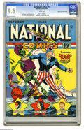 Golden Age (1938-1955):Superhero, National Comics #16 Mile High pedigree (Quality, 1941) CGC NM+ 9.6 White pages. Choosing Lou Fine's best cover would be a ta...