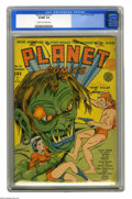 Golden Age (1938-1955):Science Fiction, Planet Comics #11 (Fiction House, 1941) CGC VF/NM 9.0 Cream tooff-white pages. Gerber credits this issue's cover to Dan Zol...