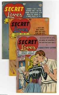Quality Comics Romance Group (Quality, 1949-50) Condition: Average VG/FN. Most of these issues have photo covers, and al...