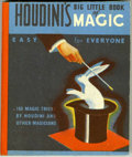 Golden Age (1938-1955):Miscellaneous, Big Little Book #nn Houdini's Big Little Book of Magic (Whitman, 1933) Condition: VF/NM....